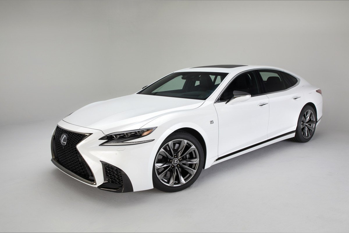 Latest Lexus Adds An F Sport Model To The 2018 Ls Lineup Acquire Free Download