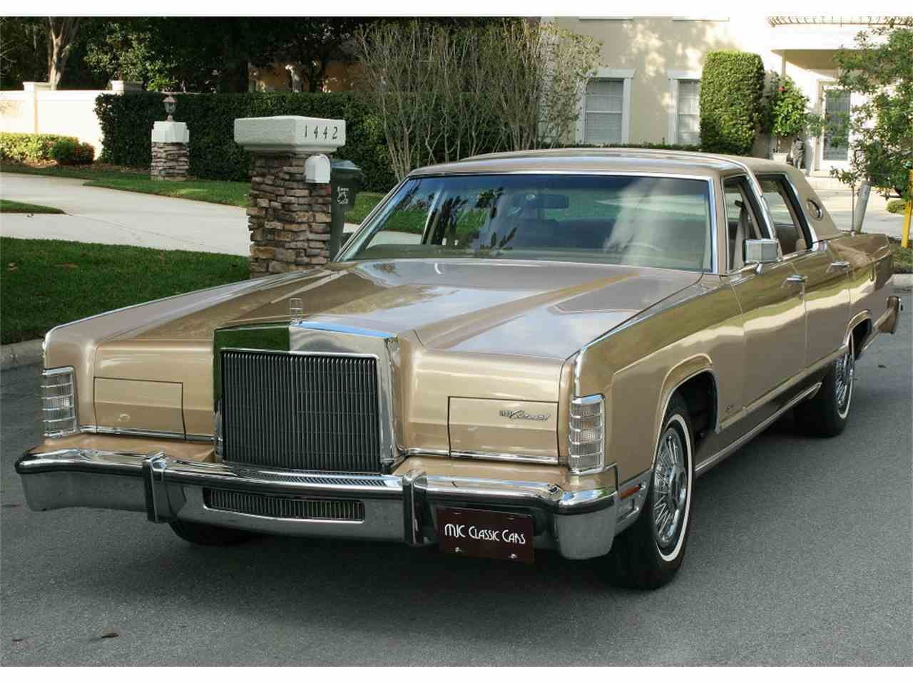 Latest 1979 Lincoln Town Car For Sale Classiccars Com Cc 972997 Free Download