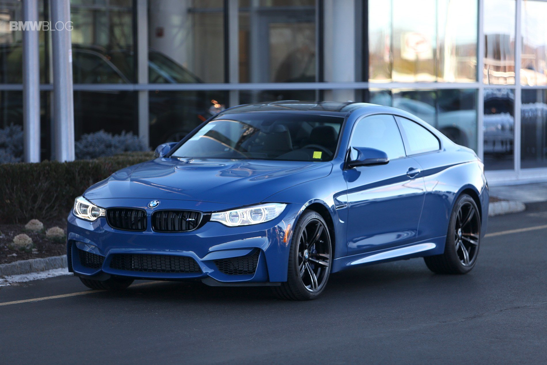 Latest One Of A Kind Violet Blue Bmw M4 Coupe Free Download
