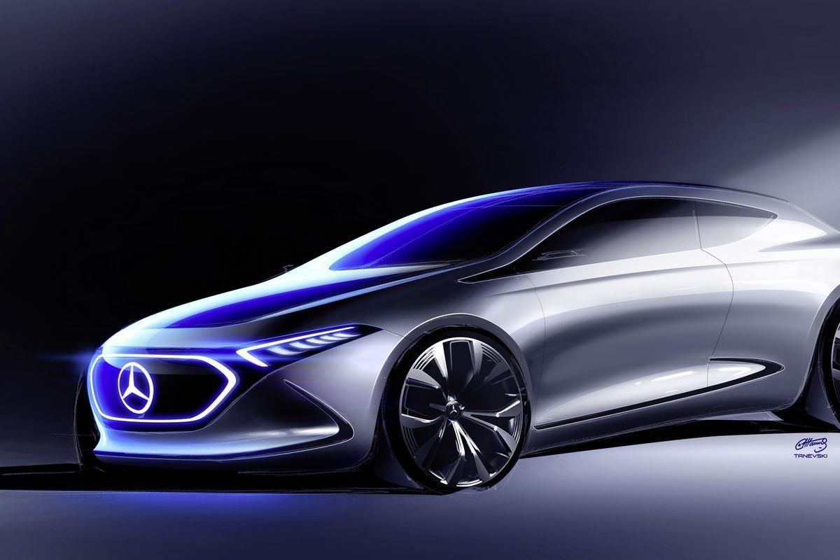 Latest Mercedes Benz Concept Eqa Is The Company's Next Showcase Free Download