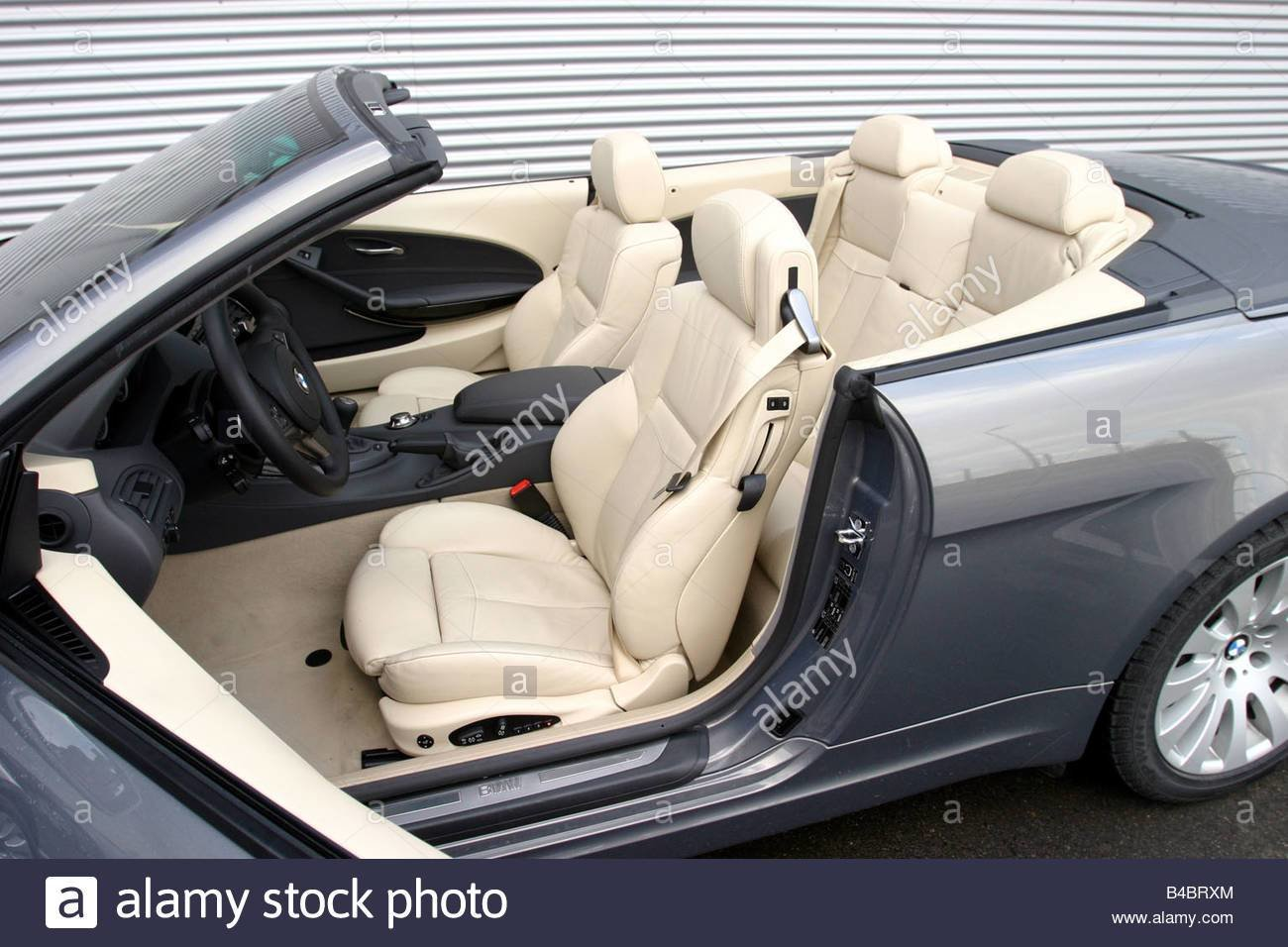 Latest Car Bmw 645 Ci Convertible Model Year 2004 Gray Free Download