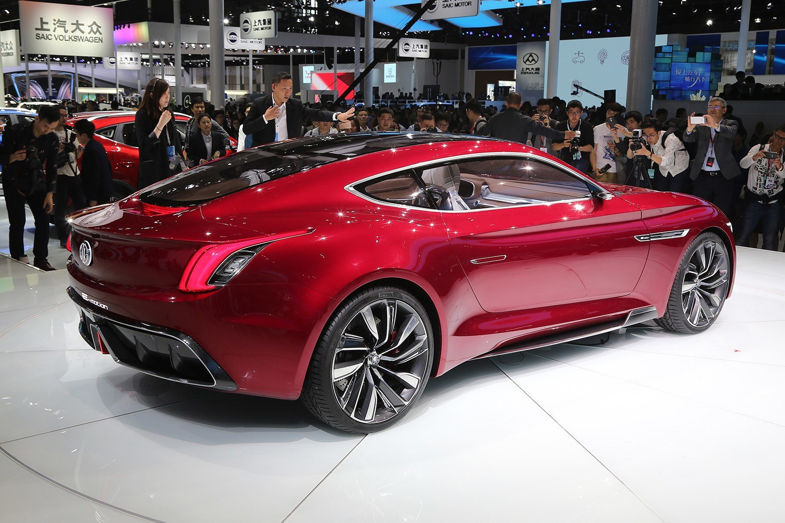 Latest Mg E Motion Ev Sports Car For Production In 2020 Autocar Free Download