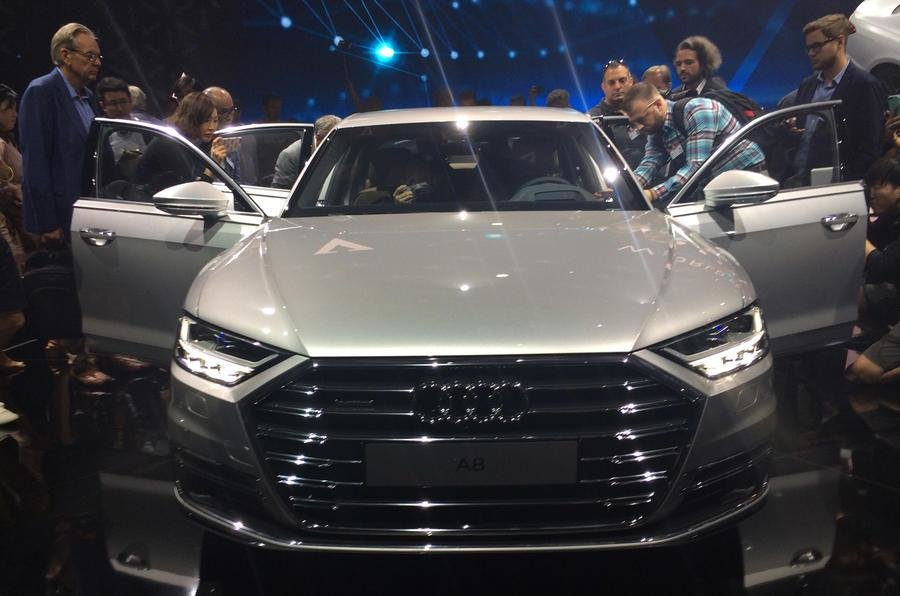 Latest Audi A8 Leads Way For Five New Models In 2018 Autocar Free Download
