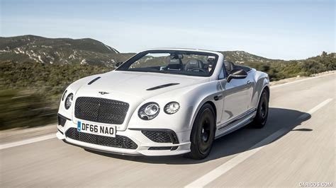 Latest 2018 Bentley Continental Gt Supersports Convertible Color Free Download