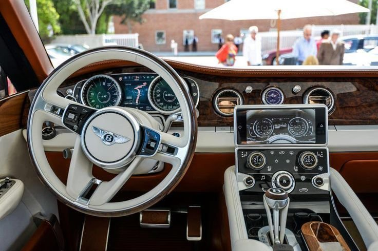 Latest Inside The 2014 Bentley Suv What A View Lgmsports Com Free Download