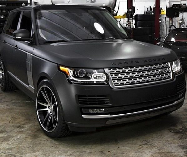 Latest Matte Black Range Rover Perfection C A R S Range Free Download