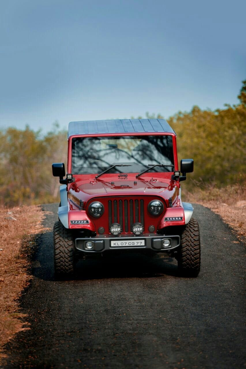Latest Mahindra Thar Crdi 4X4 Modified Into Jeep Indian Auto Free Download
