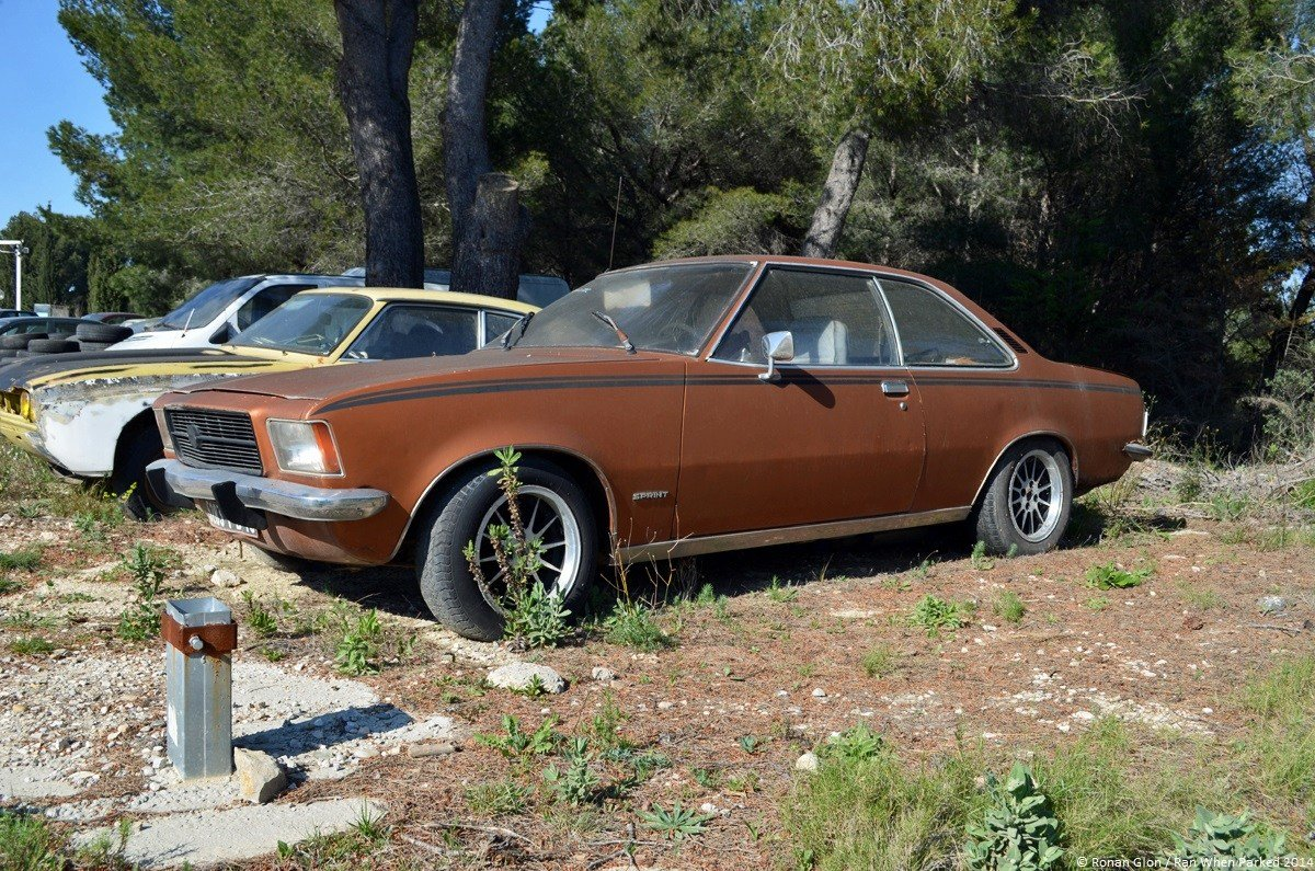 Latest Car Lot Find Opel Rekord D Coupe Ran When Parked Free Download