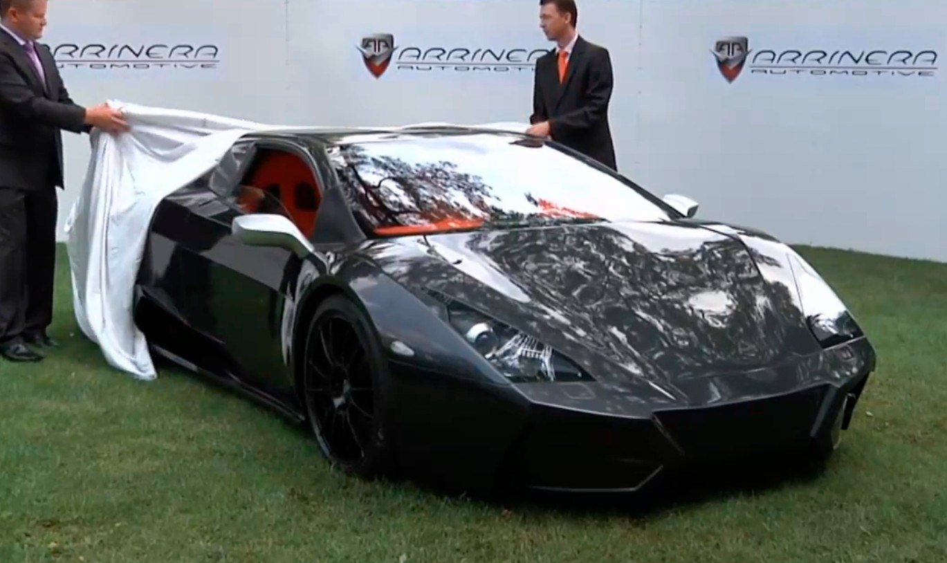 Latest Arrinera Venocara Supercar Prototype Unveiled In Poland Free Download