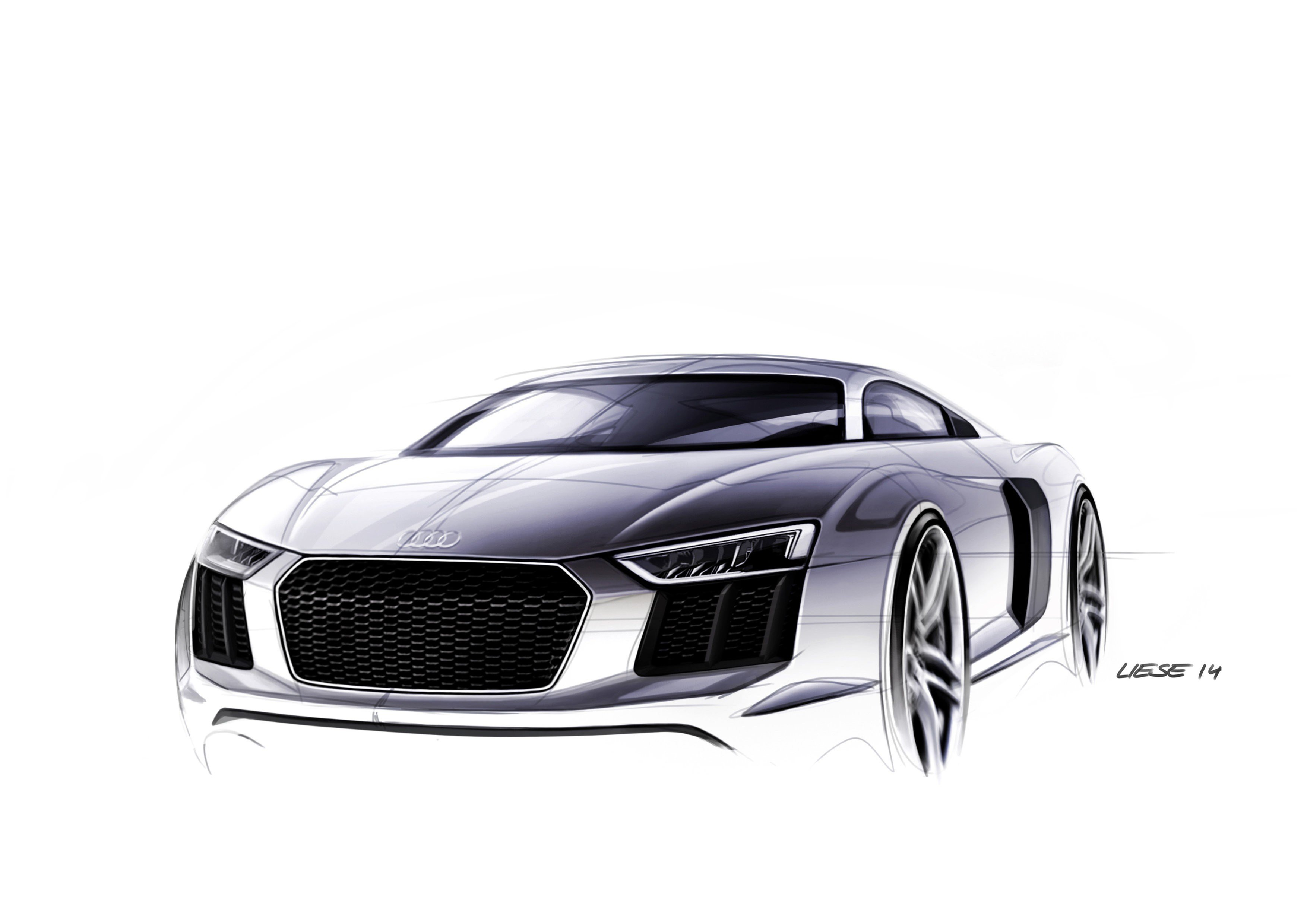 Latest 2016 Audi R8 Design Sketches Are Something To Geek Over Free Download