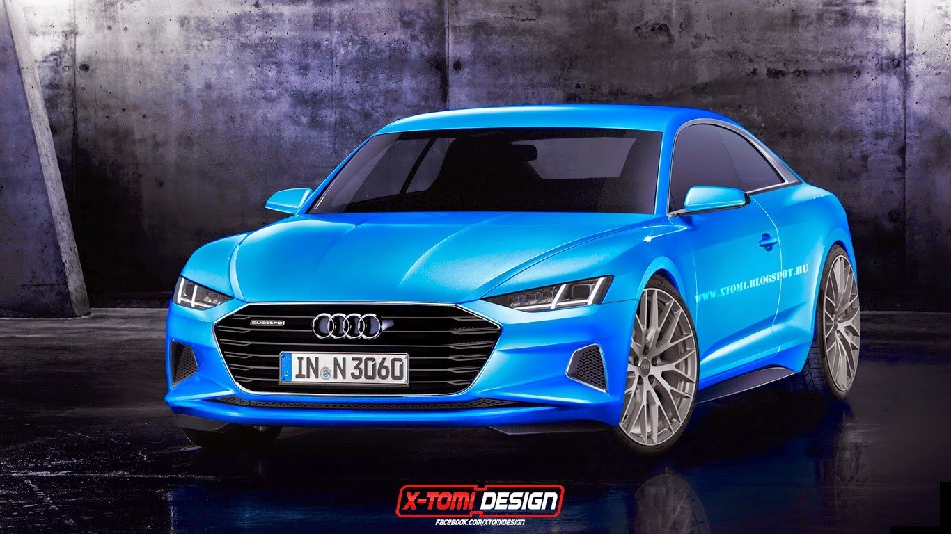Latest 2017 Audi A9 Rendered As Production Coupe Based On Free Download