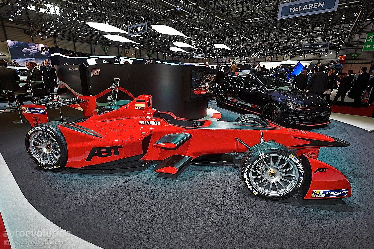 Latest Abt Brings Formula E Car To Geneva Live Photos Free Download