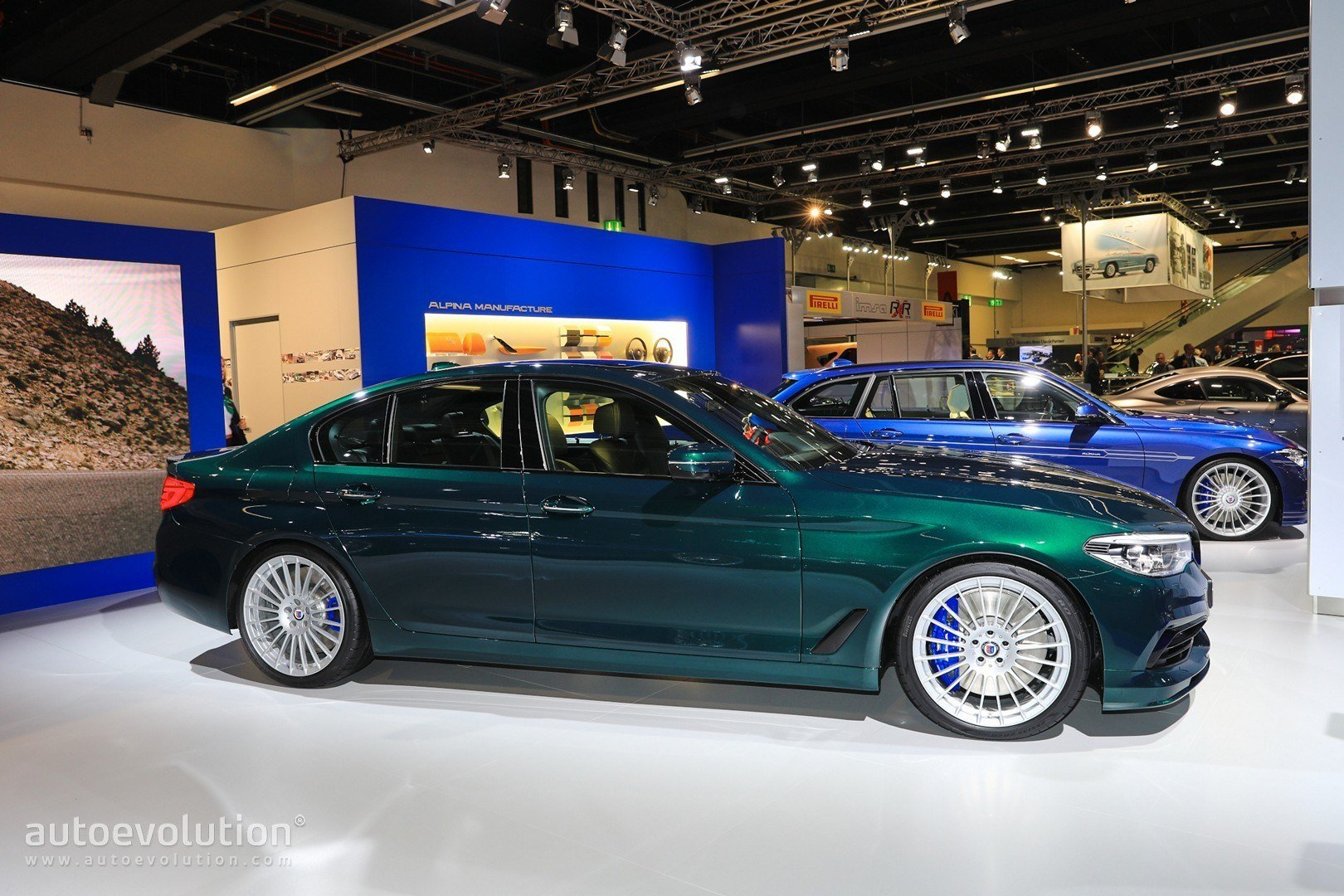 Latest Alpina D5 S Allrad Looks Very S*Xy Packs Tri Turbo Diesel Free Download