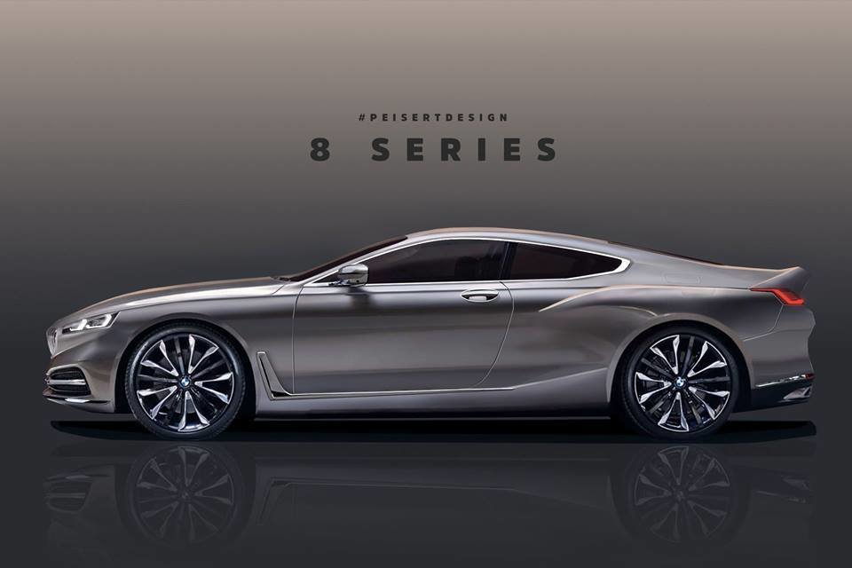 Latest New Bmw 8 Series Rendered Based On Official Teaser 2019 Free Download