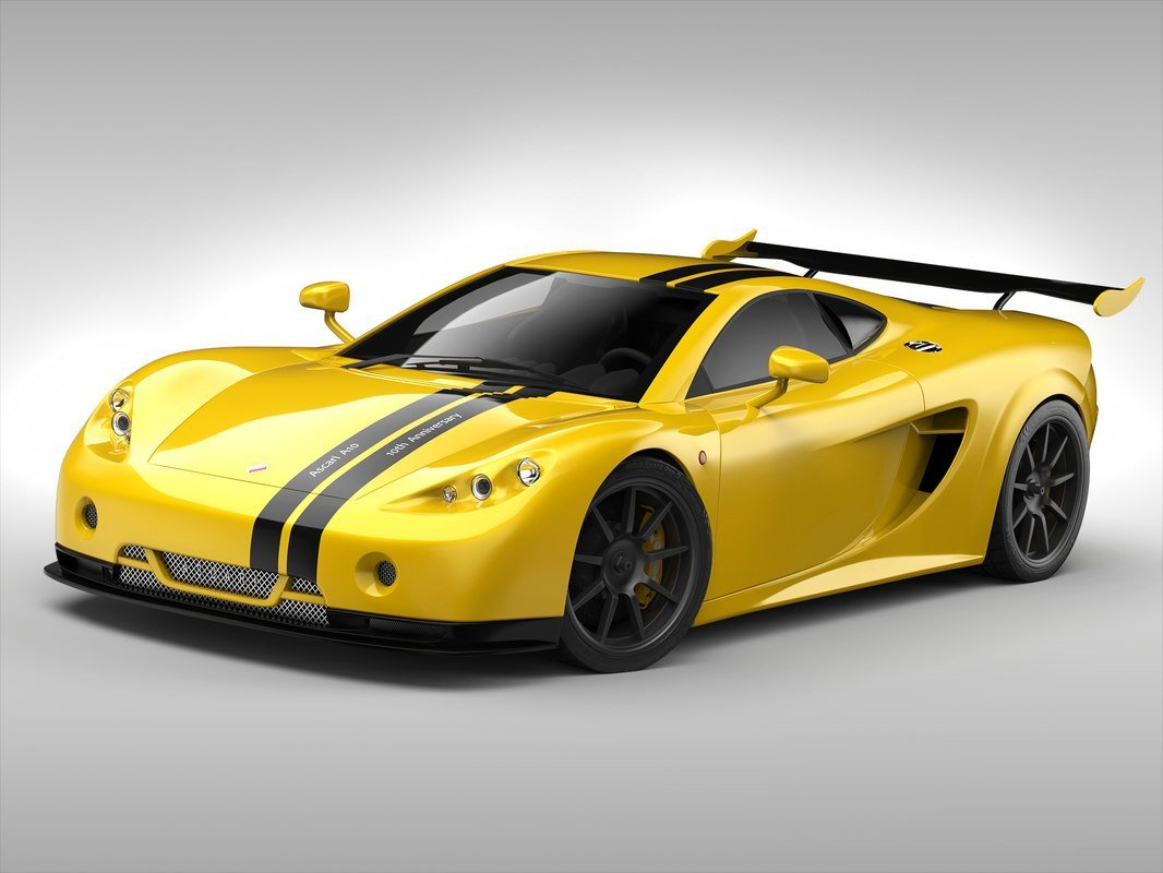 Latest Ascari Car 3D Model Free Download
