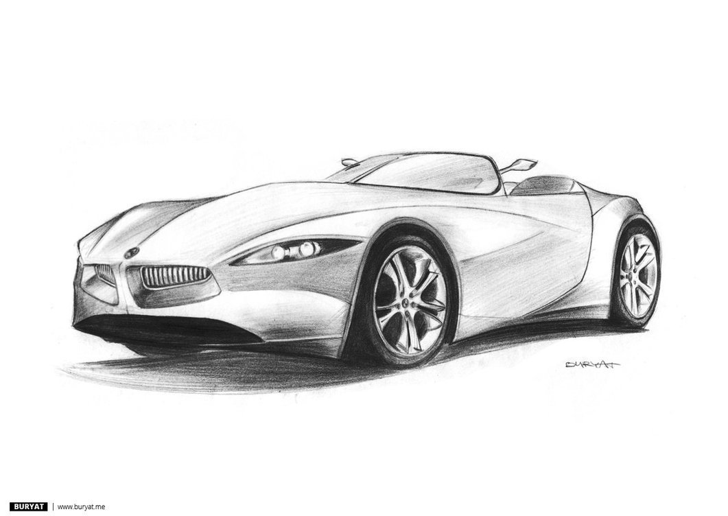 Latest Bmw Gina Pencil Drawing By Buryatsky On Deviantart Free Download