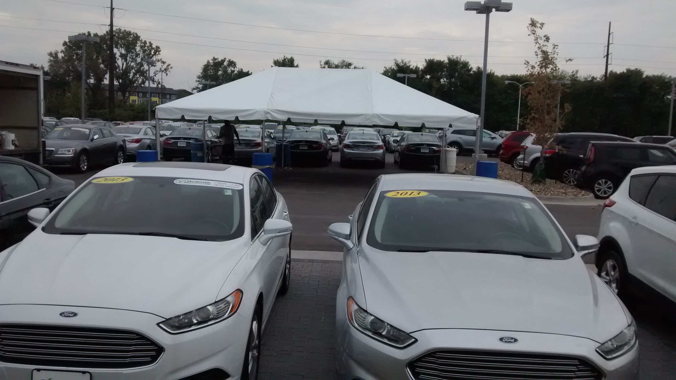 Latest Tent For The Grand Re Opening At Coralville Used Car Free Download