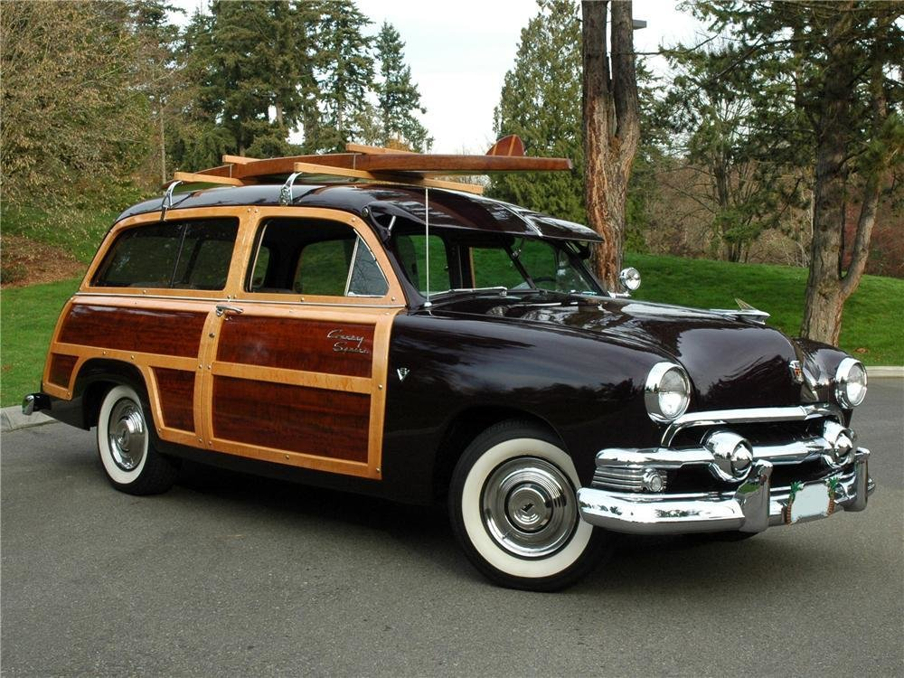 Latest 1951 Ford Country Squire Wagon Free Download Original 1024 x 768