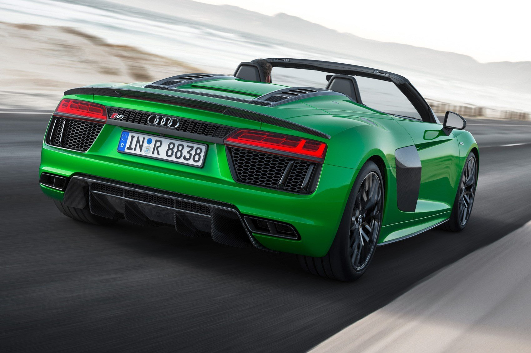 Latest The Hulk Goes T*Pl*Ss New Audi R8 Spyder V10 Plus Free Download