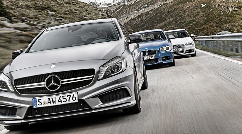 Latest Mercedes A45 Amg Vs Audi S3 Vs Bmw M135I Car Giant Test Free Download