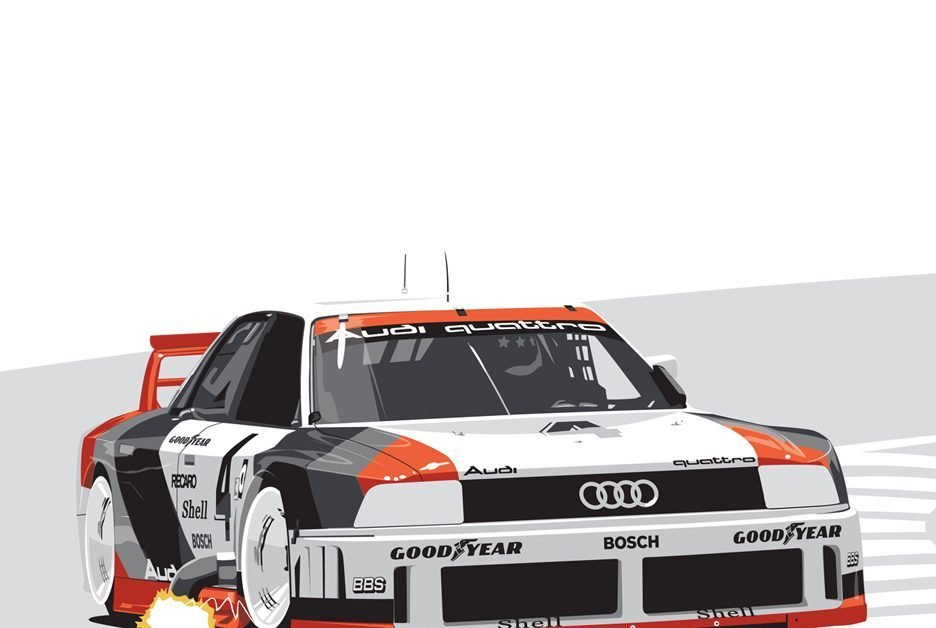 Latest This Iconic Audi 90 Gto Imsa Race Car Print Is Now Free Download