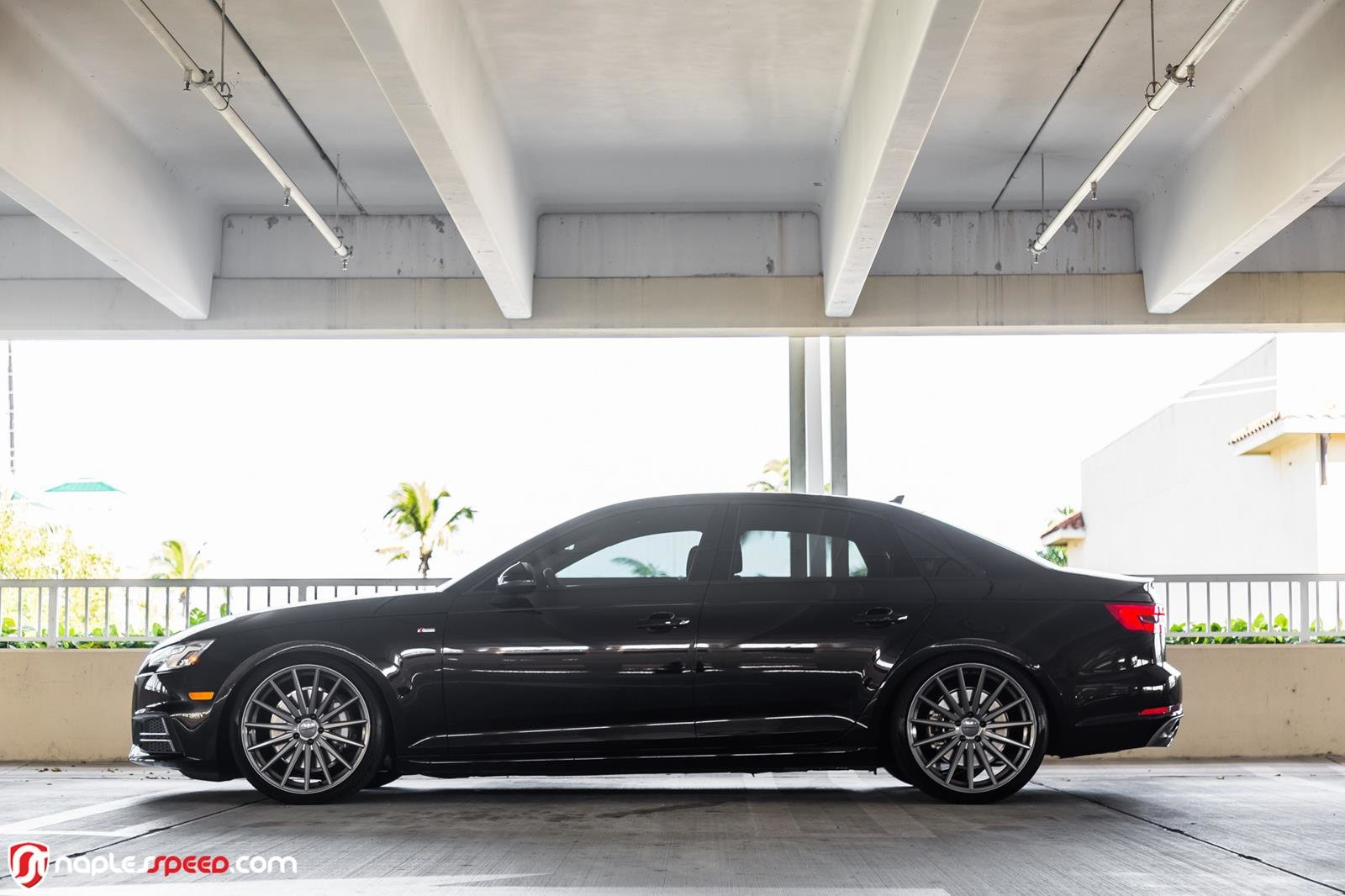 Latest 2017 Audi A4 Hunkers Down On 20 Custom Wheels Types Cars Free Download