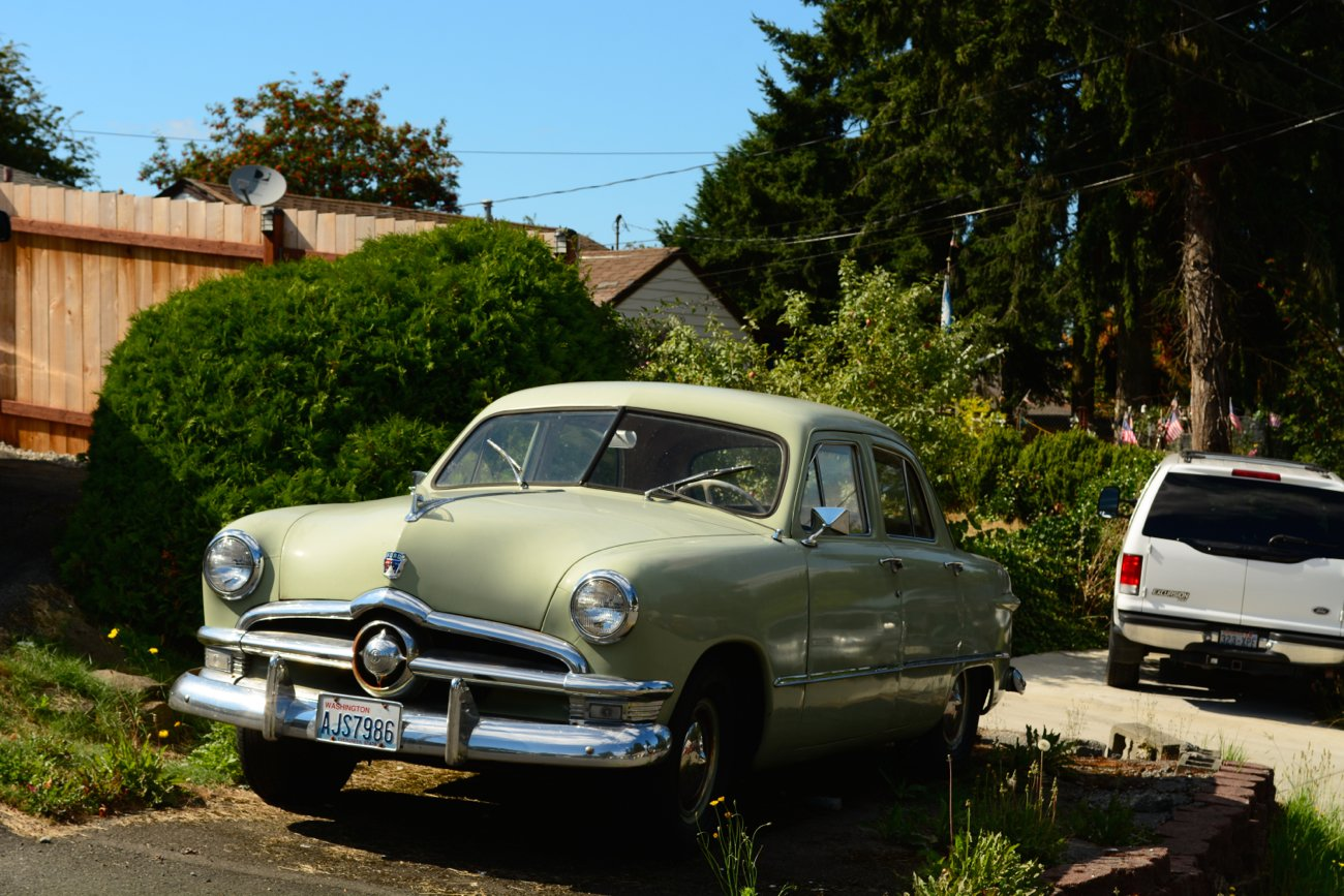 Latest Old Parked Cars 1950 Ford Free Download Original 1024 x 768