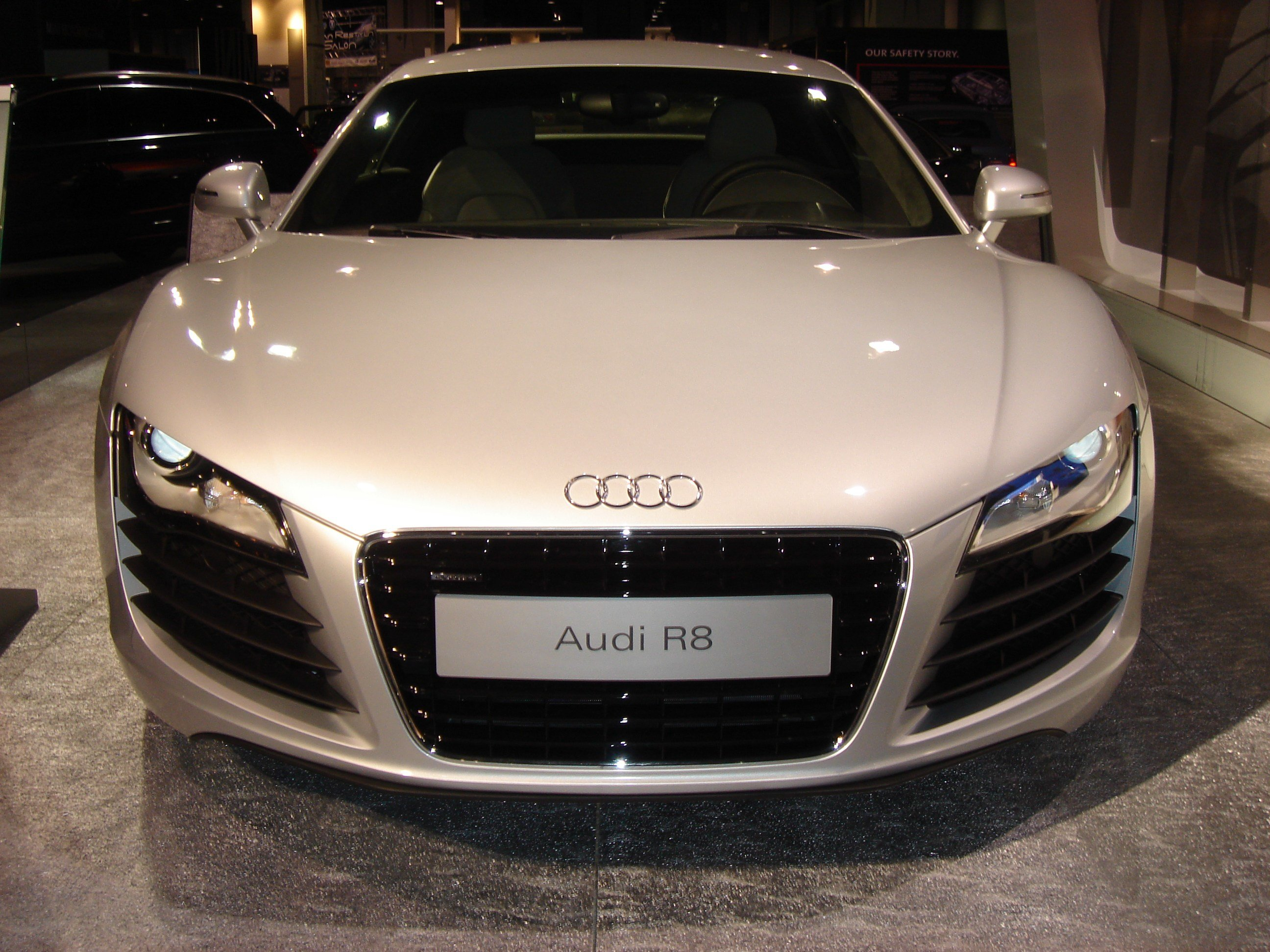 Latest File Audi R8 Front Jpg Wikimedia Commons Free Download