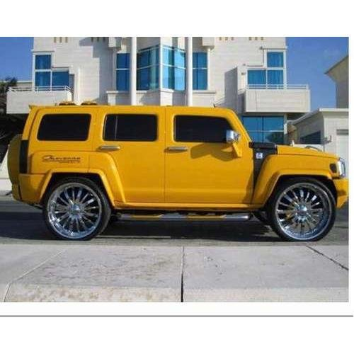 Latest Yellow Hummer Car Photos Best Cars Modified Dur A Flex Free Download