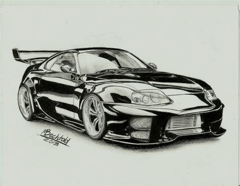 Latest Gallery Car Pencil Shading Drawings Art Gallery Free Download