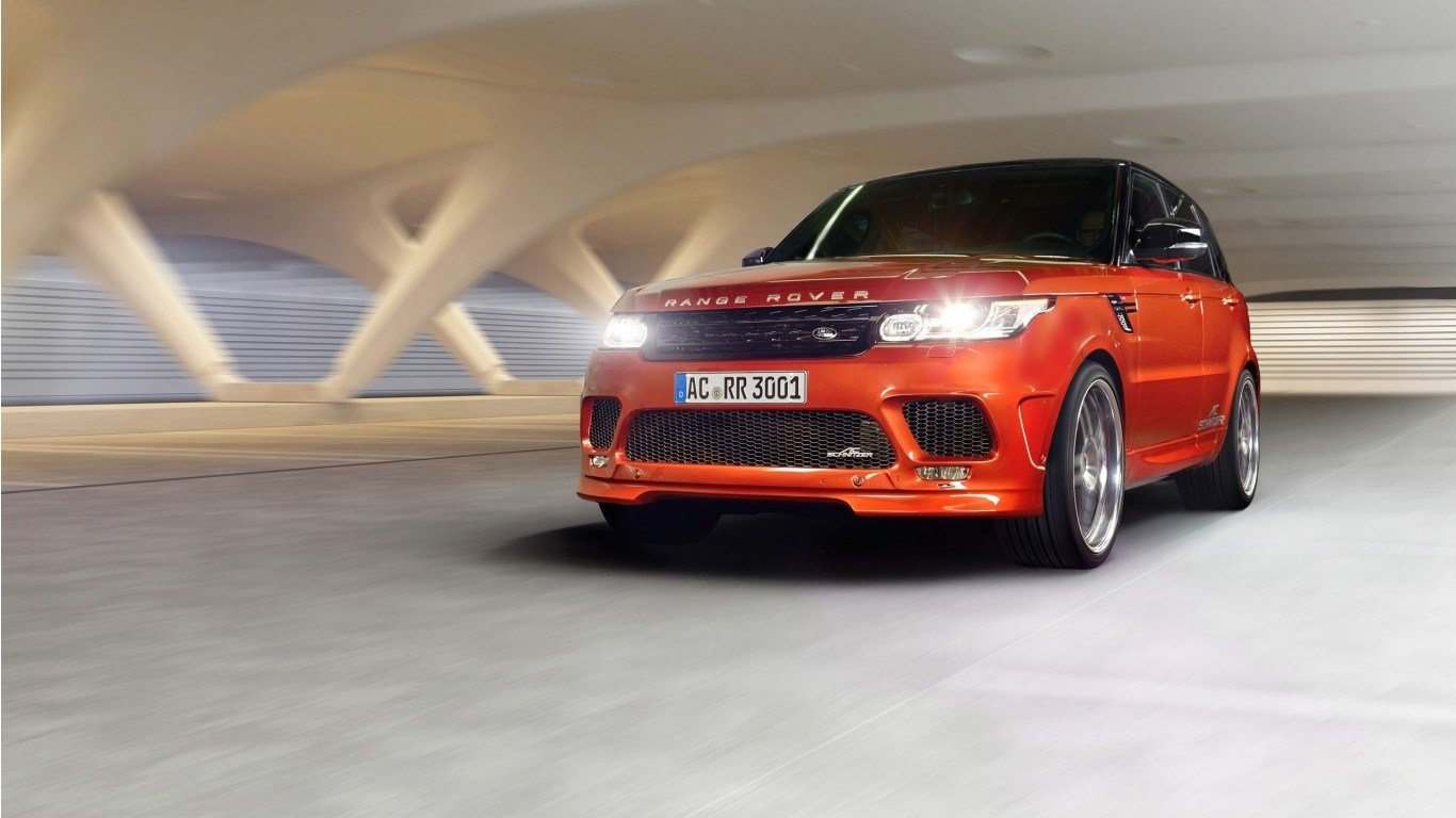 Latest 2014 Ac Schnitzer Range Rover Sport Wallpaper Hd Car Free Download