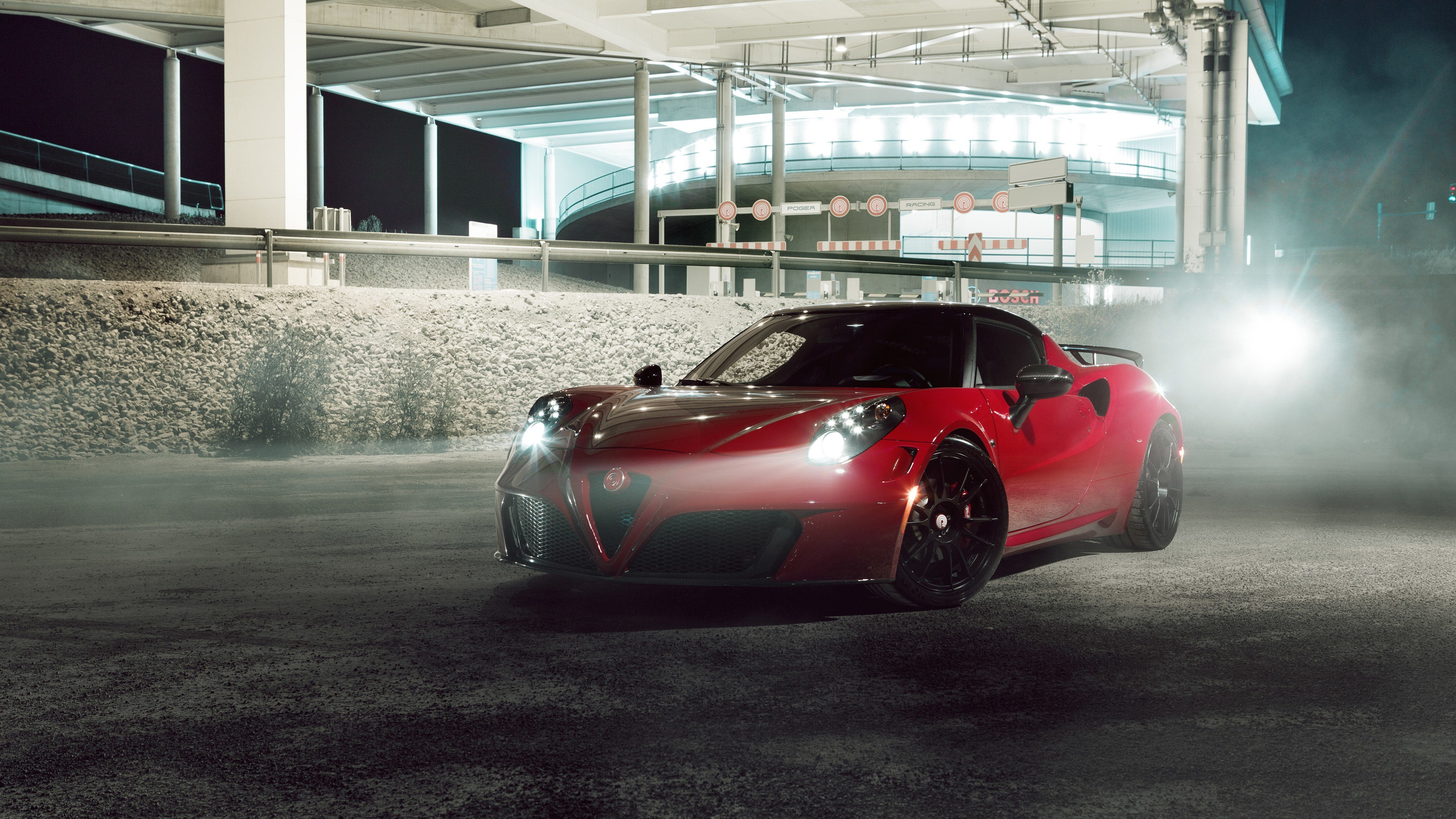 Latest 2015 Pogea Racing Alfa Romeo 4C Wallpaper Hd Car Free Download