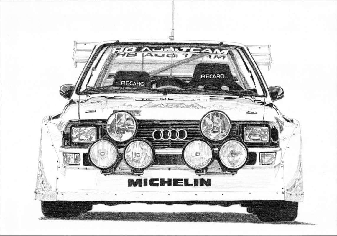 Latest Audi Quattro S1 Group B 2 3 Tobado Free Download