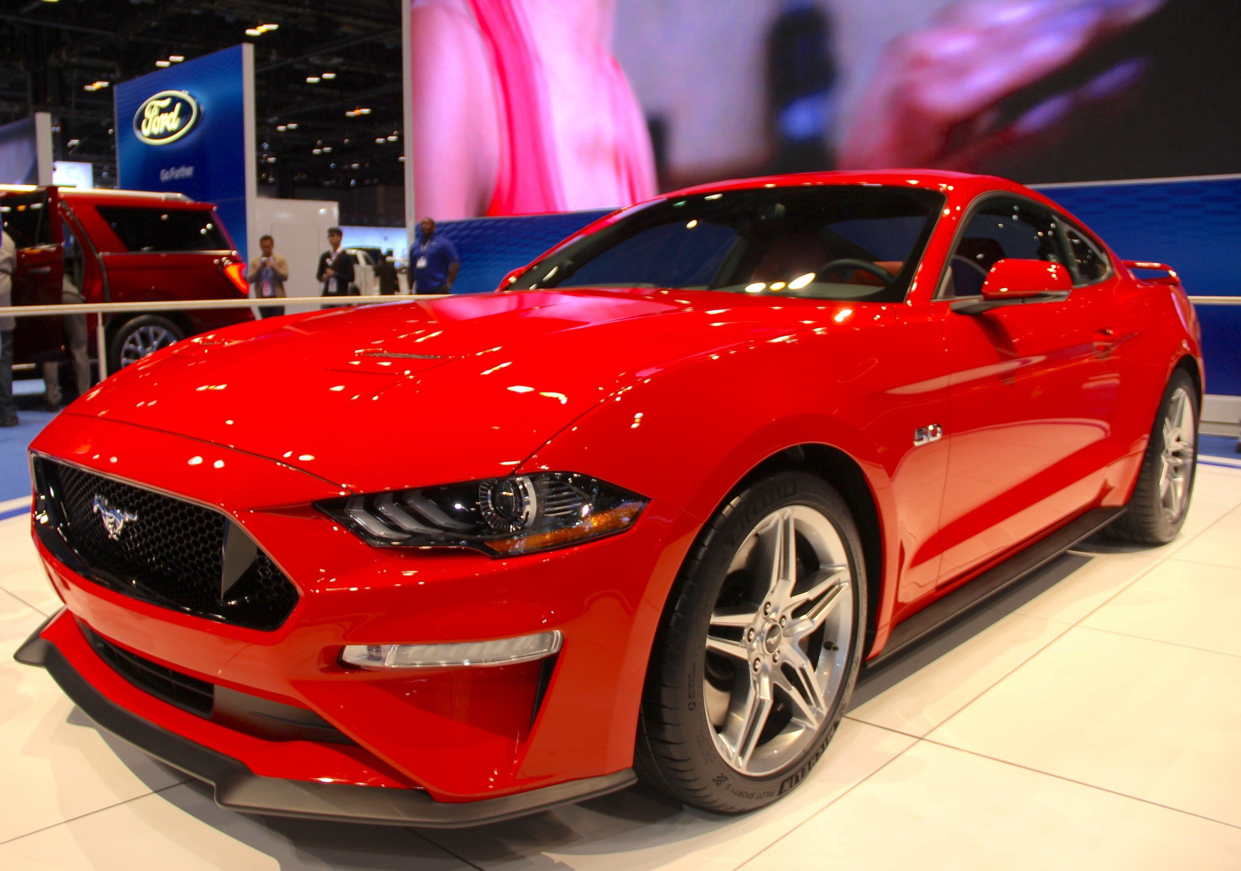 Latest 2018 Ford Mustang Shows Its Fresh Face » Autoguide Com News Free Download