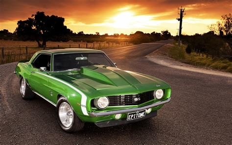 Latest Cars Chevrolet Camaro Ss Muscle Car Wallpaper 35898 Free Download