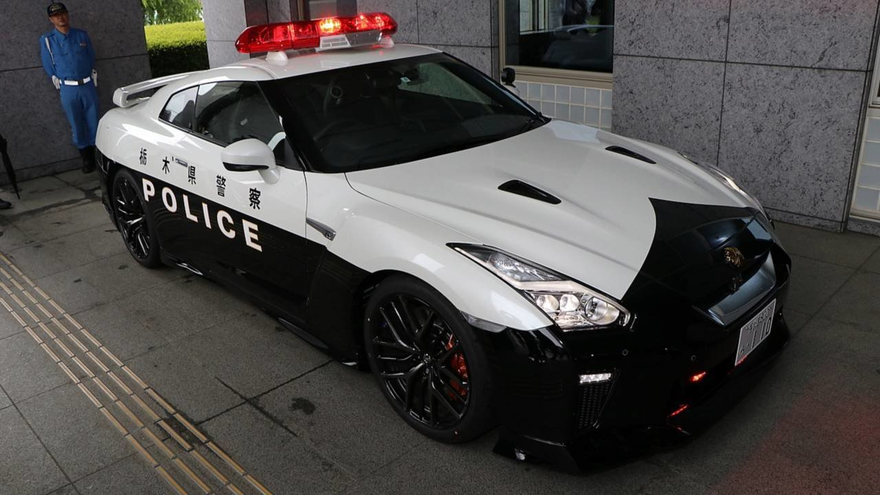 Latest Someone Donates A Nissan Gt R To Police In Japan Free Download