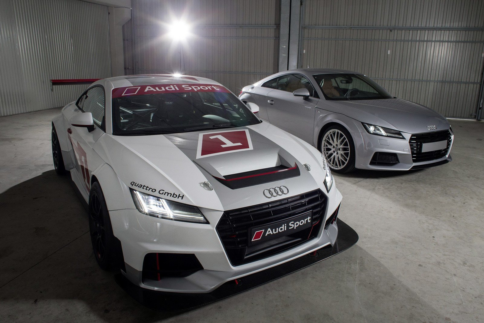 Latest Audi Tt Race Car Looks Sweet W Video Carscoops Free Download