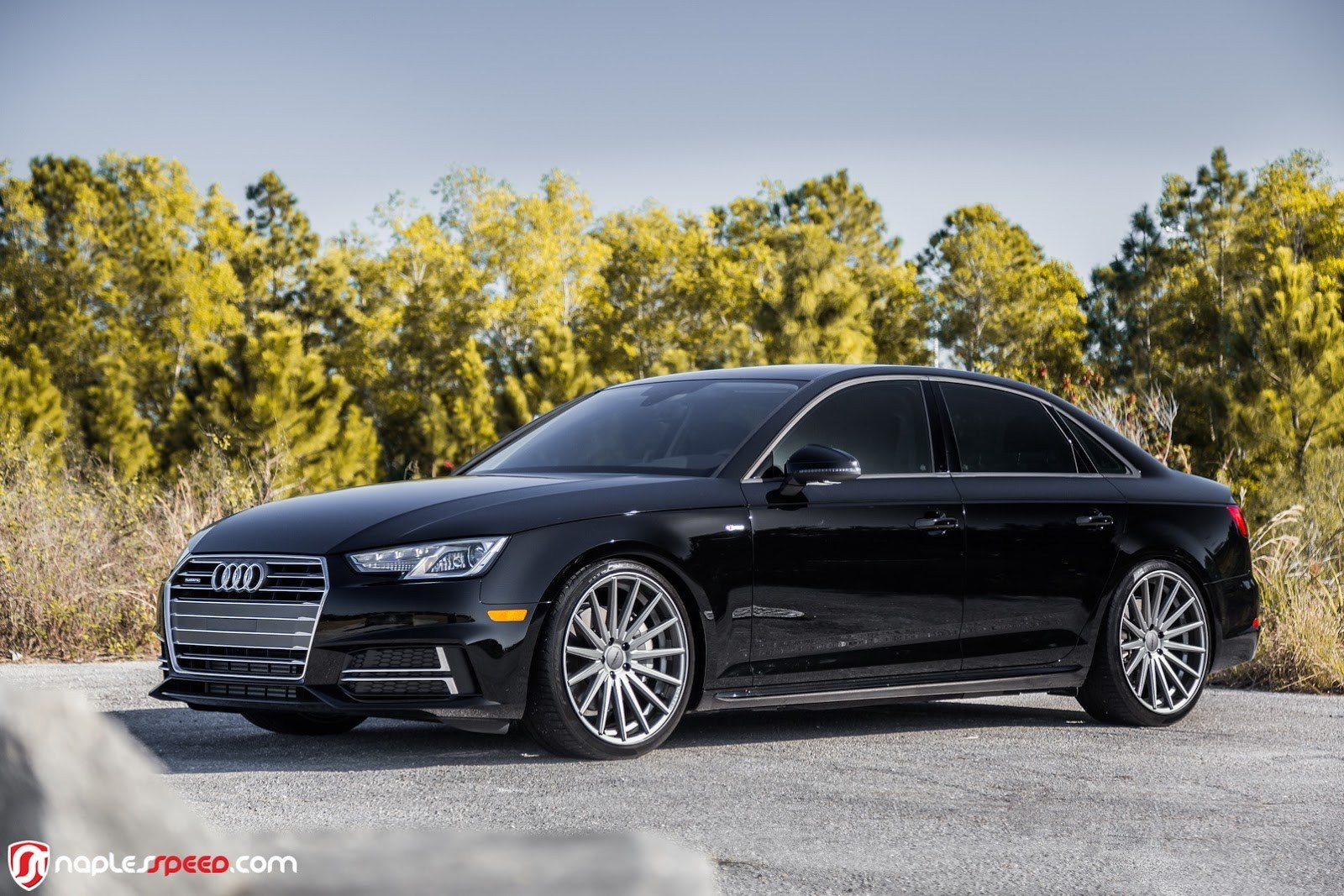 Latest 2017 Audi A4 Hunkers Down On 20 Custom Wheels Carscoops Free Download