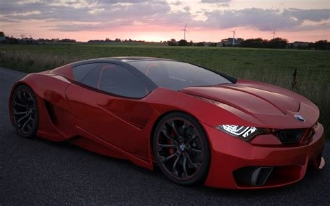 Latest Bmw M9 Concept Wallpaper And Hintergrund 1280X800 Id Free Download