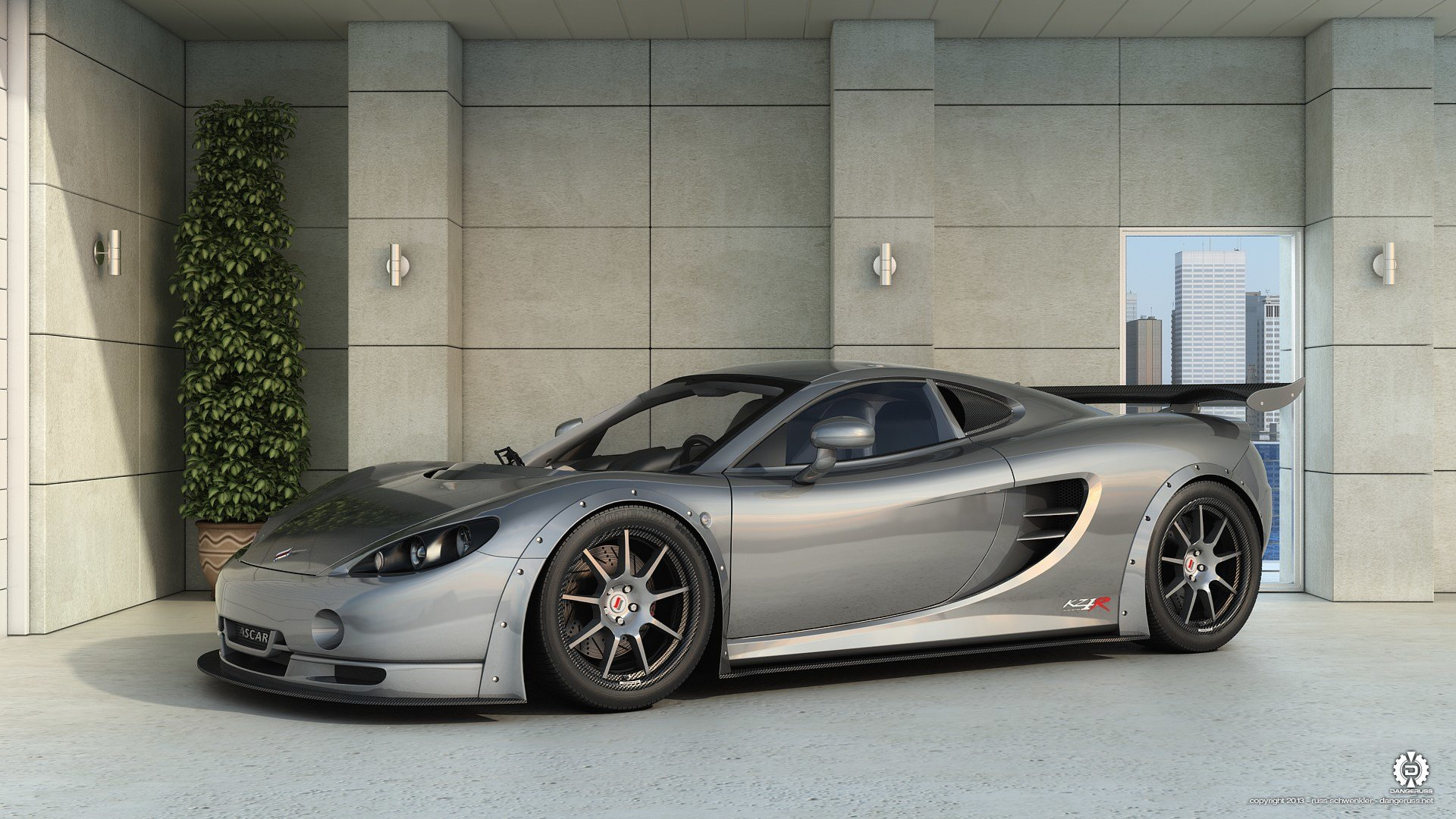 Latest 2012 Ascari Kz1R Hd Wallpaper Background Image Free Download