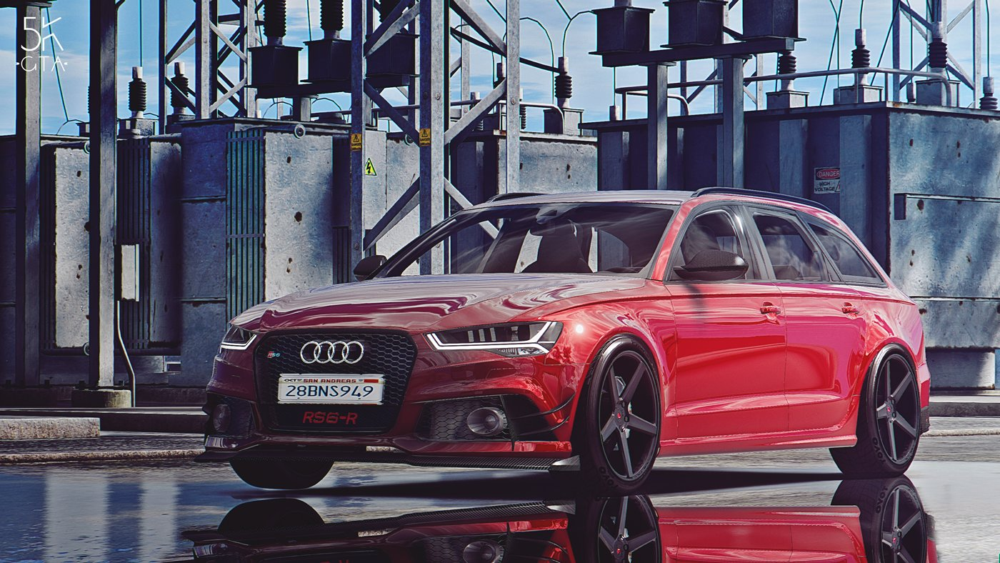 Latest 2015 Audi Rs6 Add On Abt Tuning Gta5 Mods Com Free Download