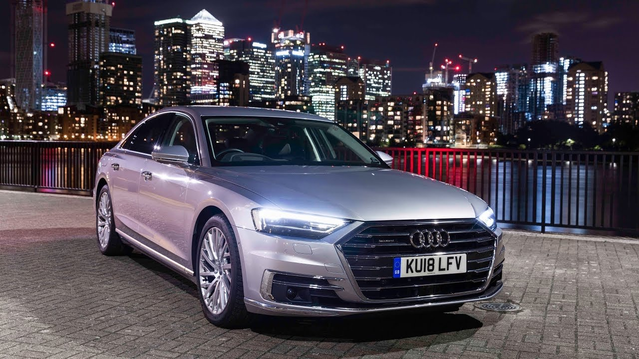 Latest New Audi A8 The Best Car For Driving At Night Free Download