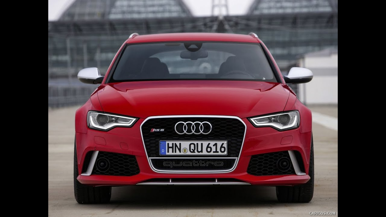 Latest Audi Rs6 Red Colour Review Youtube Free Download