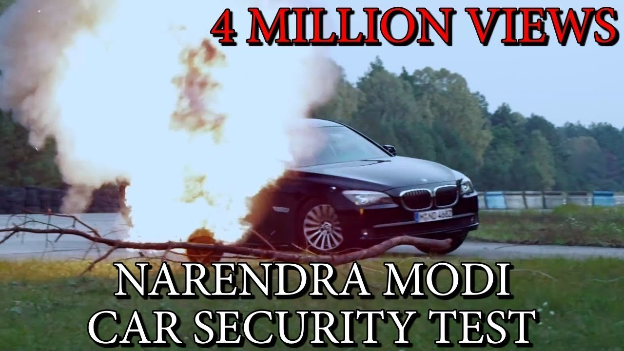 Latest Narendra Modi S Bmw Car Security Test Youtube Free Download