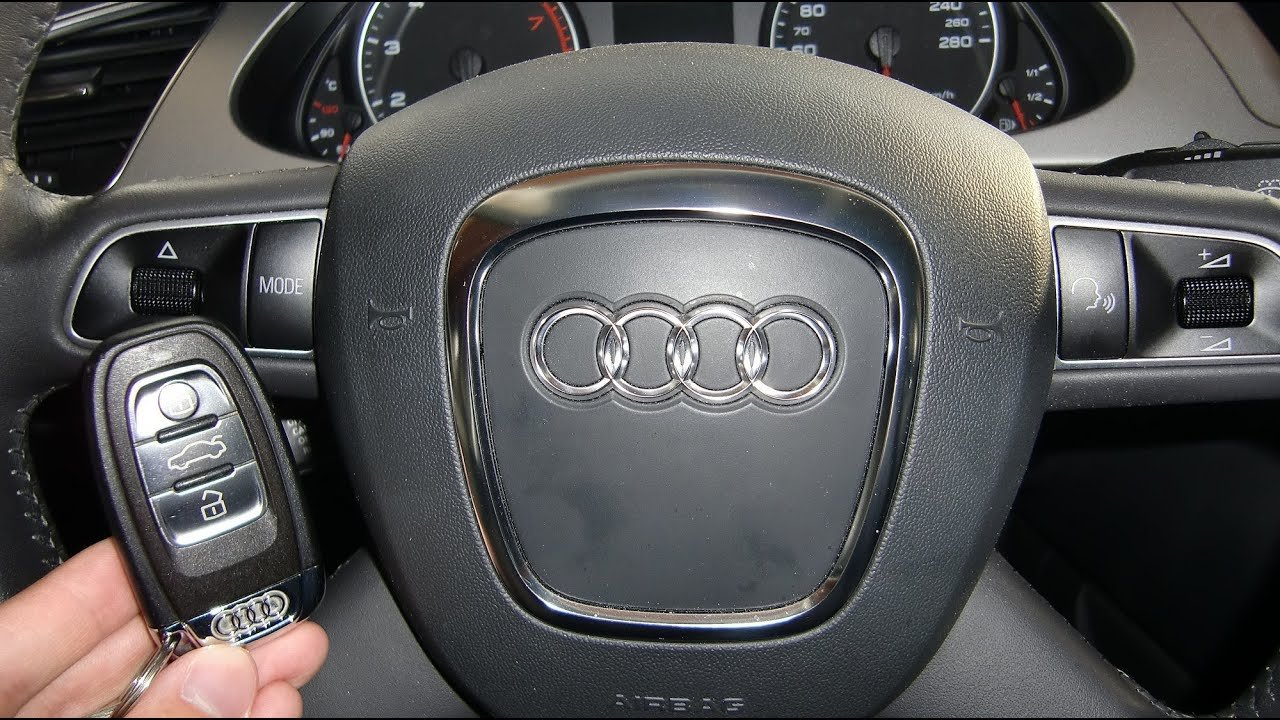 Latest How To Start An Audi A4 2009 And Others With Ignition Free Download