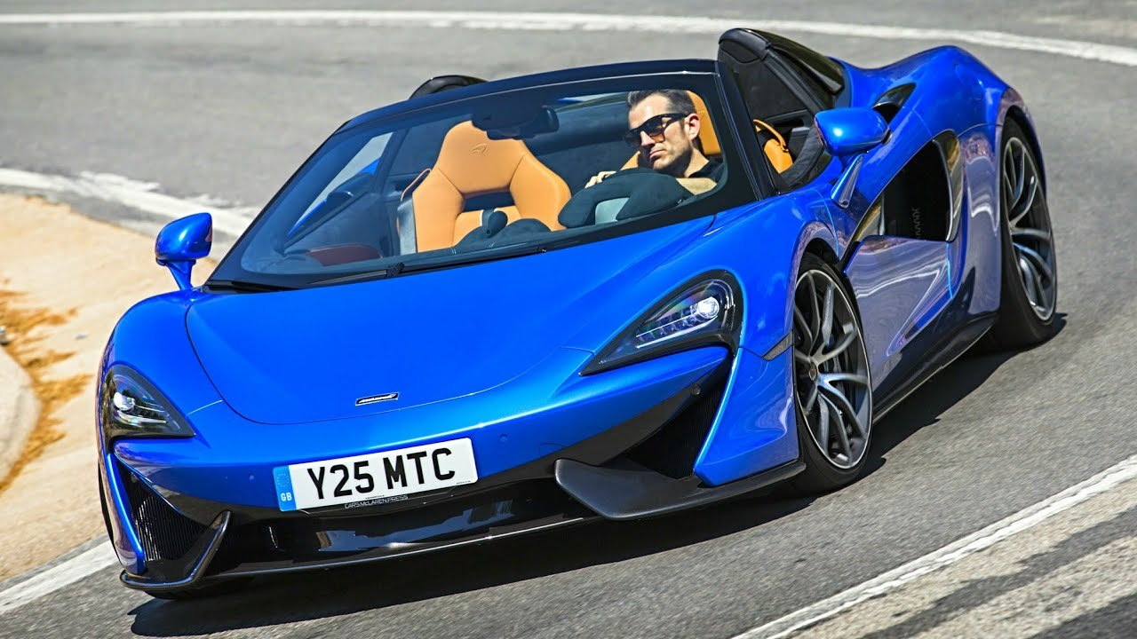 Latest 2018 Mclaren 570S Spider Sports Car Youtube Free Download