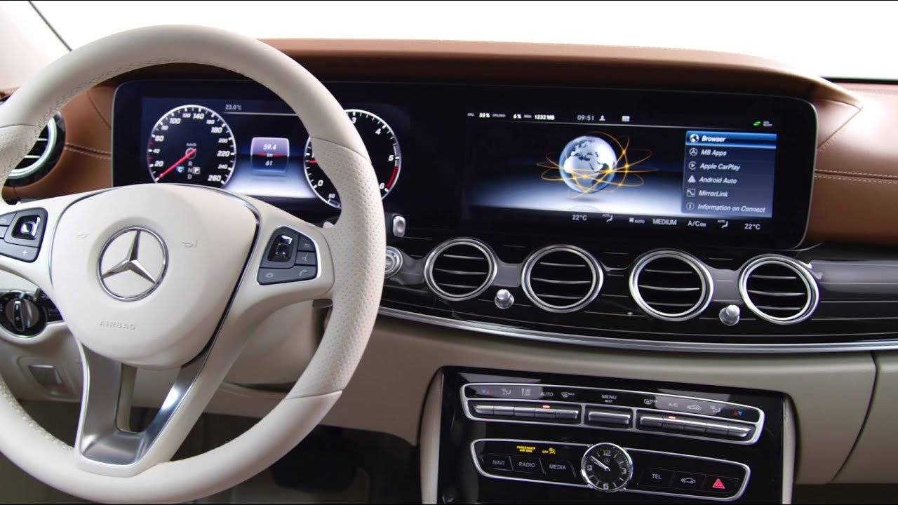Latest Preview Of The 2016 E Class Interior Design Mercedes Free Download