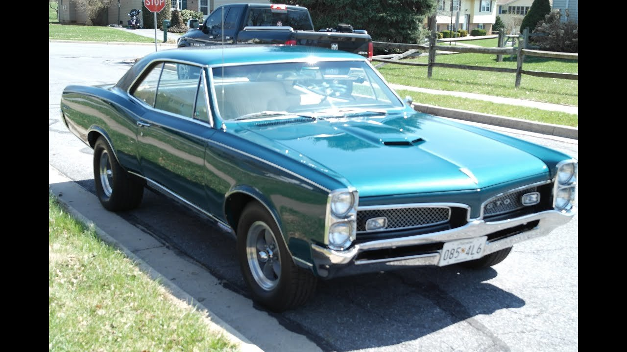 Latest Muscle Car For Sale 1967 Gto Matching Numbers 4 Speed Sold Free Download