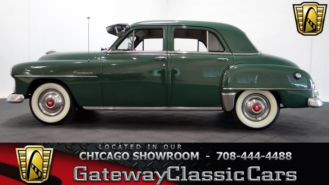 Latest 1952 Plymouth Cranbrook Gateway Classic Cars Chicago 1036 Free Download