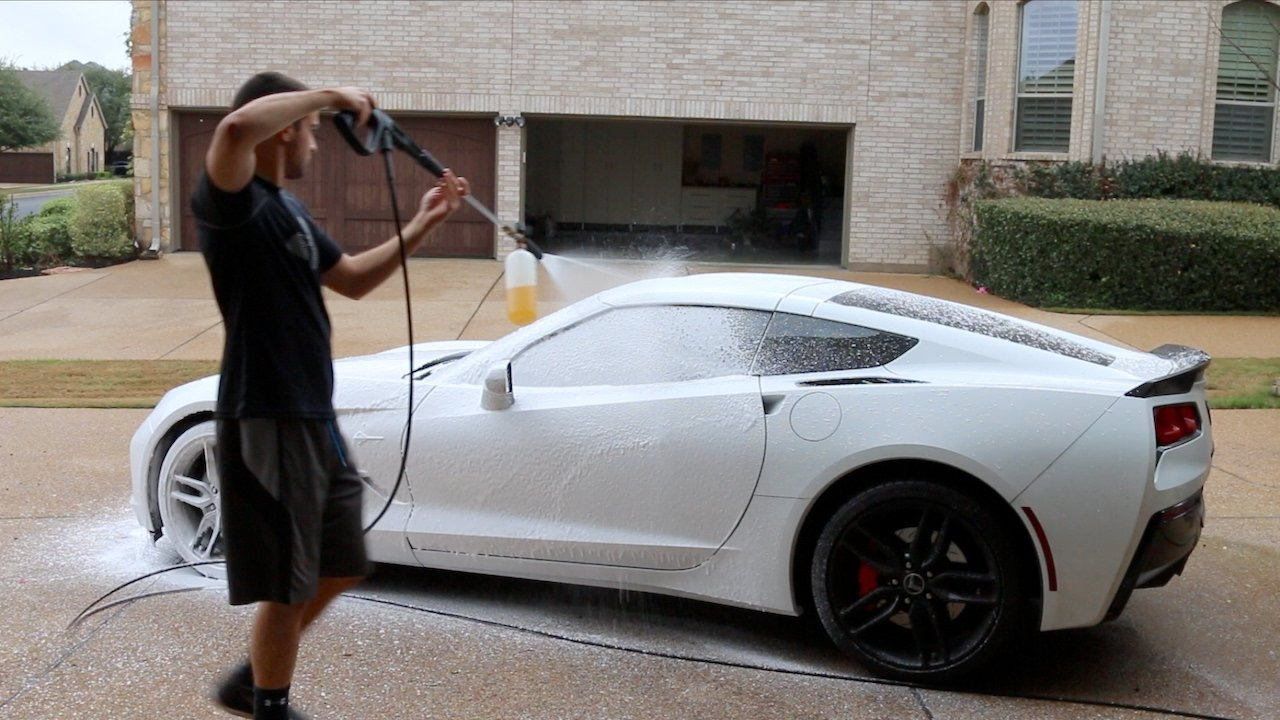 Latest Touchless Car Wash With Foam Cannon Power Washer Leaf Free Download Original 1024 x 768